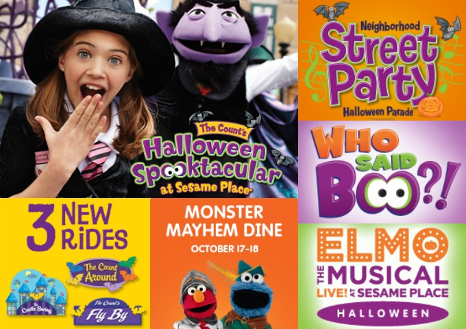 halloween at sesame place - Sesame Place Halloween