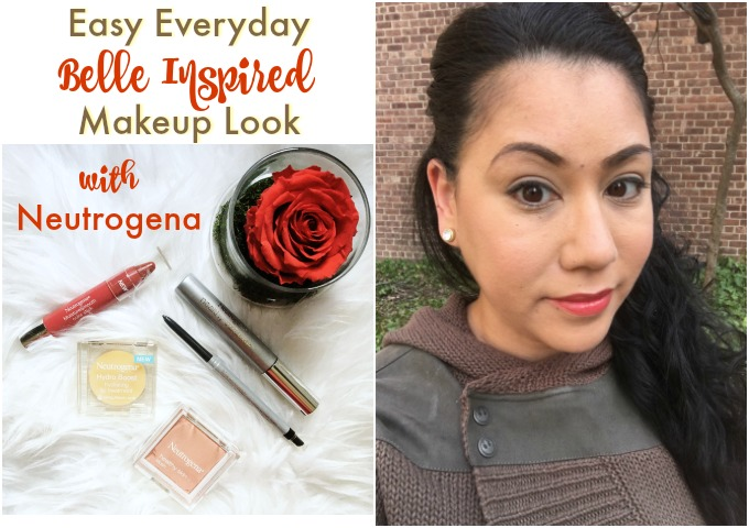 Everyday Belle Inspired Makeup Look with Neutrogena